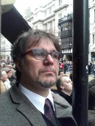 Daniel at Thatchers Funeral