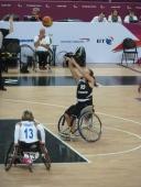 Gesche Schueneman Deutsches Rolltstuhl Frauen Basketball Team bei den Paralympics