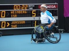 Israeli Paralympic Tennis Team, London 2012
