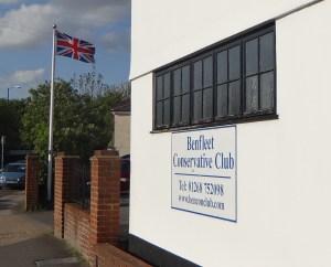 Conservative Club Benfleet ist nicht mehr der beliebteste Club der Stadt.