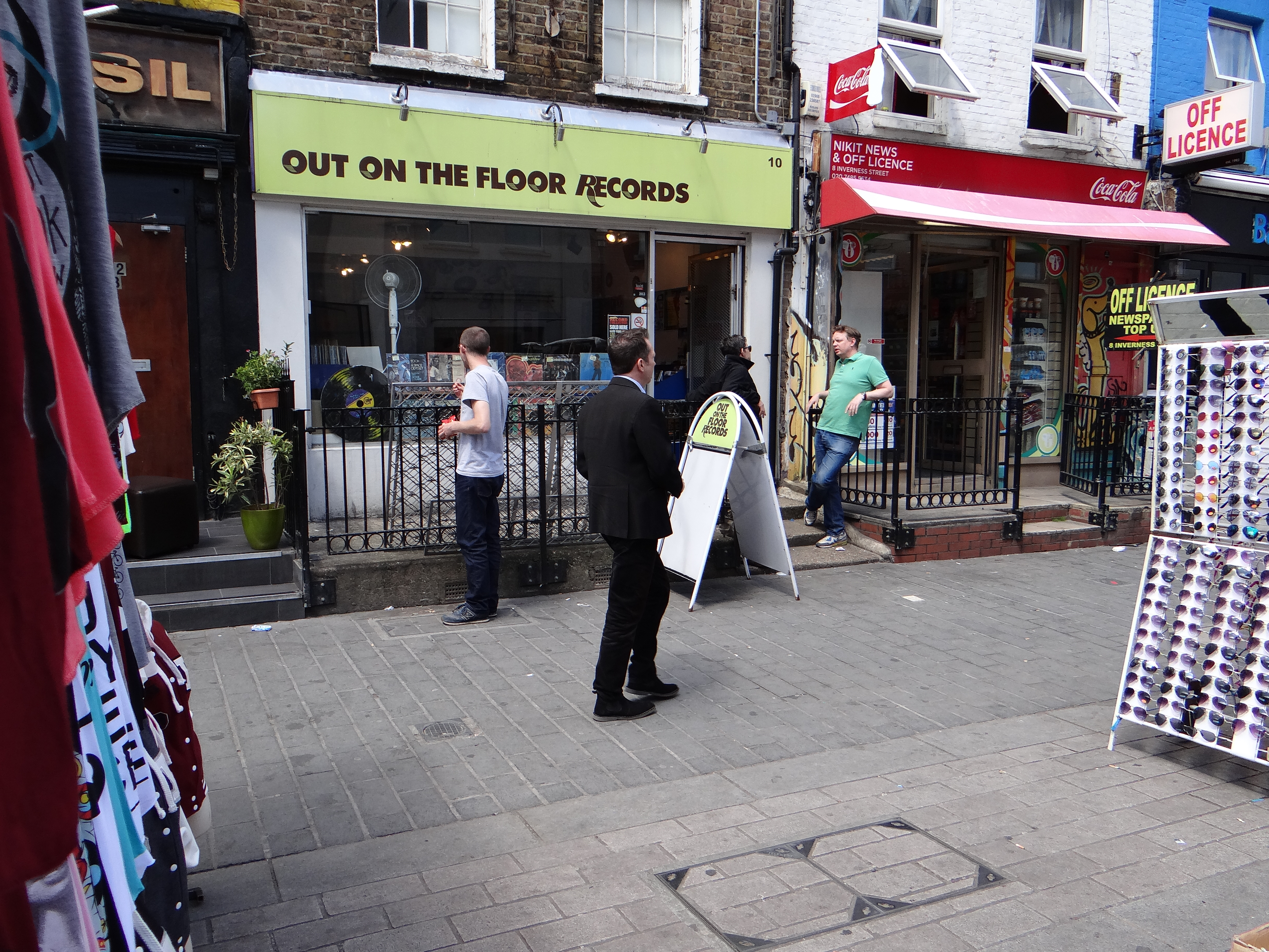 Out on the floor records camden daniel d z for The camden
