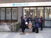 Barclays Bank war einer der mächtigsten Finanzierer des britischen trans-atlantischenSklavenhandels.