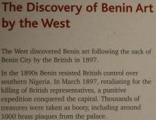 """Discovery of Benin"" (All rights Reserved Daniel Zylbersztajn)"