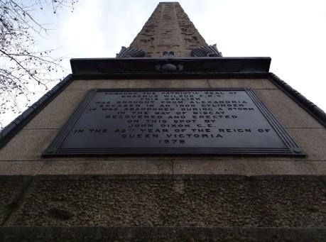 Cleopatra's Needle, London (All rights Reserved Daniel Zylbersztajn)