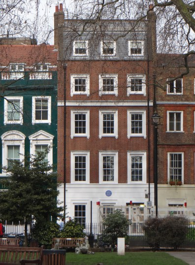 Haus von Mary Seacole am Soho Square (All rights Reserved Daniel Zylbersztajn)