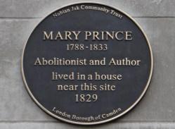 Die Entlaufene Sklavin Mary Prince schockte mit ihren Schildreungen das Gewissen der Briten