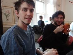 billy h (l) und Kumpel Howie Taylor-(r) (c) Daniel Zylbersztajn
