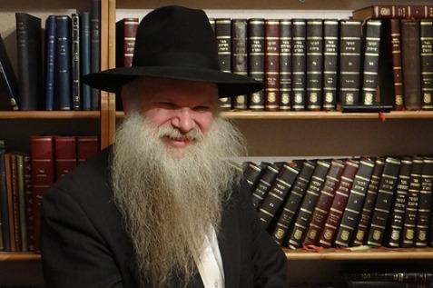 Rabbi Gluck, featured in Juedische Allgemeine, 2013