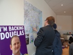 Ukip Wahlstrategen bei der Arbeit in Clacton (c) 2014 Daniel Zylbersztajn All Rights Reserved