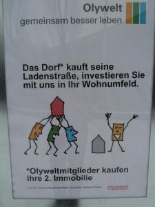 (c) Daniel Zylbersztajn Olympiadorf Initiative. Ladenstrassen Ankauf