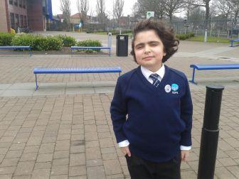 Schüler der King David Grundschule, Liverpool, (c) Monica Correras - Gonzales