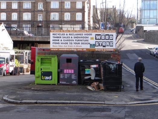 Recycling war eine der Herausvorderungen die selbst die grün regierte Stadt nicht lösen konnte. Schuld sei die Politik der Austerity und fehlendes Investment konsekutiver Stadtregierungen. (c) Daniel Zylbersztajn All Rights Reserved
