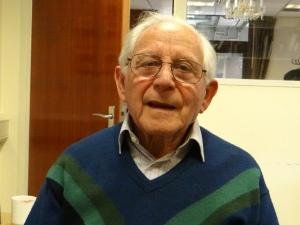 Chaim Olmert, Shoaueberlebender   Shoa survivor Chaim Olmert (c) Daniel Zylbersztajn