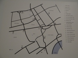 Spaces of Black Modernism London 1919 to 39 (c) Daniel Zylbersztajn (2) London Westend Geographie der Orte in denen sich schwarze Künstler bewegten, mit freundlicher Genehmigung