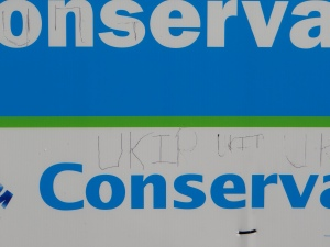 (c) Daniel Zylbersztajn Conservatives Wahlplakat in Benfleet  | Poster of teh Conservatives in Benfleet