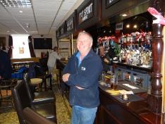 Will Ukip waehlen, Schellackpollierer Lee O'Brian, 56, Benfleet