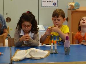 Kabbalat Schabat im Kindergarten III (c) Daniel Zylbersztajn