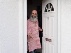 Couchsurfing with Ali Zaidi in London (c) Daniel Zylbersztajn, 2015, All Rights Reserved