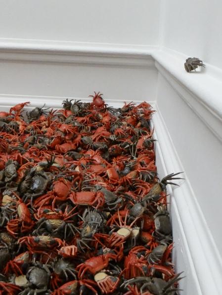 One free River crab... @Ai Weiwei RAA exhibition, London, (c) Daniel Zylbersztajn