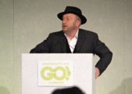 George Galloway at Brexit event of Grassroots Out! in London (c) Daniel Zylbersztajn 2016