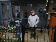 Packington Estate 3 Am Ende kann ich nicht klagen sagt George Smith, 80 vor seiner neuen Sozialwohnungsbleibebleibe1