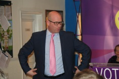 Ukip's new leader Paul Nuttall during his speech in Sleaford. All Rights reserved (c) dzx2.net