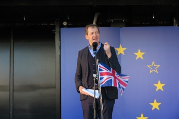 Alastair Campbell Unite for Europe Demonstration (c) 2017 Daniel Zylbersztajn All Rights Reserved
