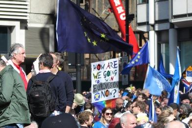Unite for Europe Demonstration (c) 2017 Daniel Zylbersztajn All Rights Reserved