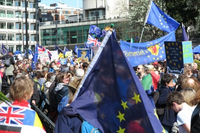 Unite for Europe Demonstration (c) 2017 Daniel Zylbersztajn All Rights Reserved