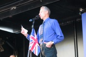 Peter Thatchel Unite for Europe Demonstration (c) Daniel Zylbersztajn