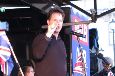Nick Clegg at Unite for Europe Demonstration (c) Daniel Zylbersztajn