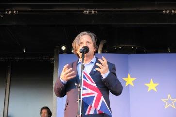 Roger Casale Unite for Europe Demonstration (c) 2017 Daniel Zylbersztajn All Rights Reserved