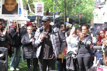 Leroy Logan auf dem Marsch