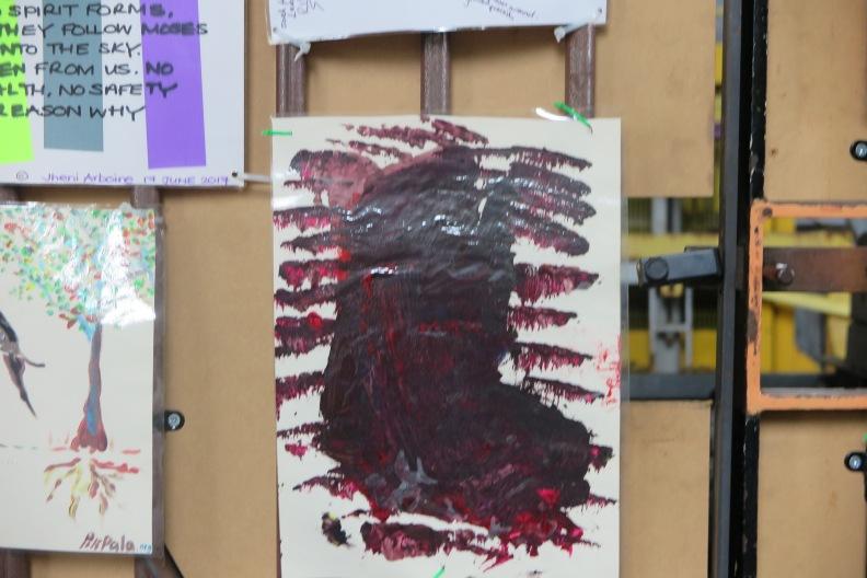 Bilder und Botschaften der Anteilnahme unter dem Westway 03