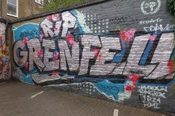 Grafitti in der Nähe von Ladbroke Grove