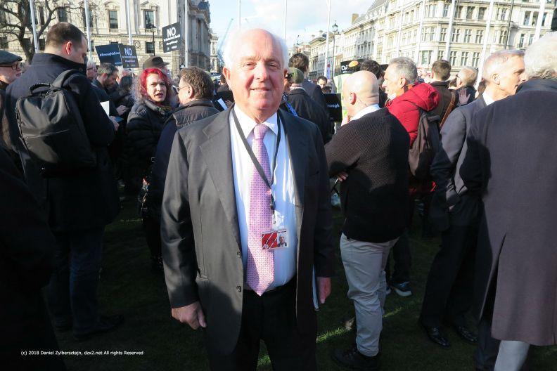 Lord David Mitchell ich verliess Labour wegen Corbyn Um Gottes Willen Etwas muss passieren aber ich glaube Corbyn kann nicht IMG_0330
