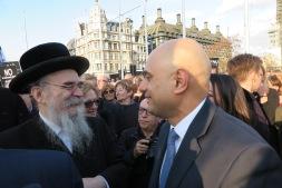 Sajid Javis and Rabbi Drucker IMG_0404