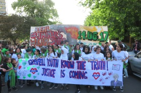 Justice is coming Silent Walk Banner 14 Juni 2018 IMG_0394
