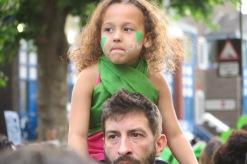 Kleines Mädchen mit Papa Silent Walk 14.06.2018 IMG_0533