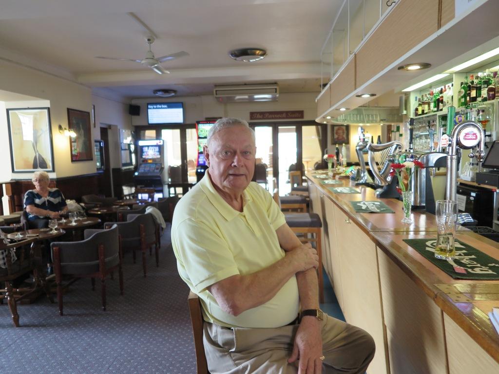 Gravesend Alistair Ellis, 80 Vorsizender des konservativen Klubs in Gravesend IMG_3142