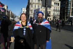Pauline Adams, Mitte 50, und Simon Wilkes, 54, IMG_5306