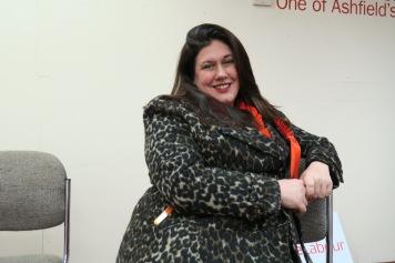 Sutton Labour Kandidatin Natalie Fleet IMG_4778